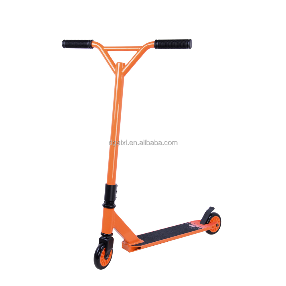 neue s4 orange bmx extreme fu roller erwachsene fu. Black Bedroom Furniture Sets. Home Design Ideas
