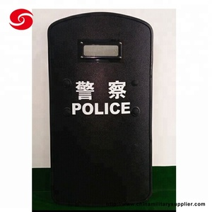 2019 Thick steel equipment Police NIJ Ballistic Bullet Proof Shield for army police anti-riot