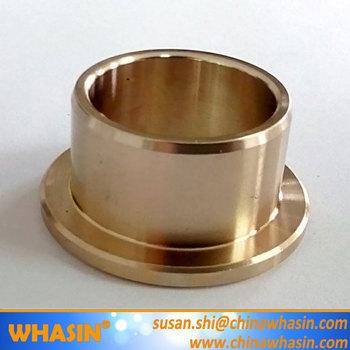 Plastic Prop Rod Aluminum Flange Bushing Sintered Bronze