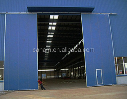Canam aluminum sliding doors with commercial standard