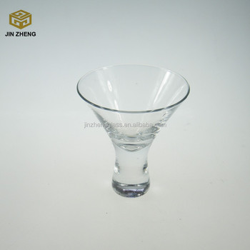 Best Selling Short Martini Glass Vase For Cold Drinkingshot Glasses