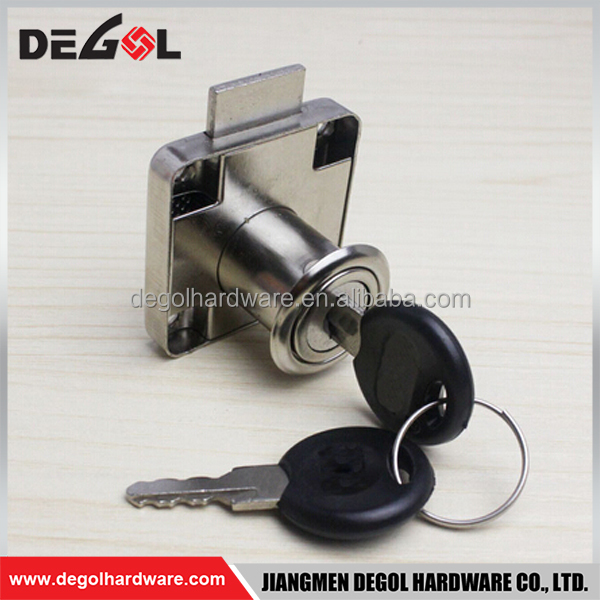 Top quality zinc alloy high security hidden office desk furniture cabinet drawer lock