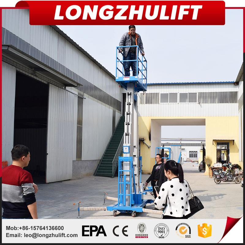High quality machine grade single man lift for sale with good