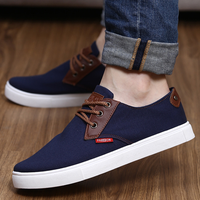 zm10307a 2016 Fashion pure color men comfortable hot sell casual canvas shoes