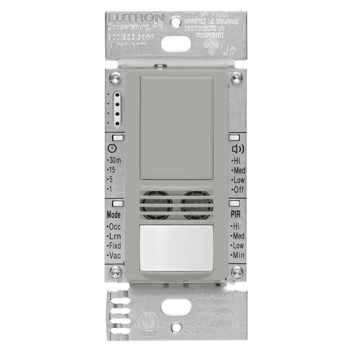 Buy Lutron Maestro Dual Tech Occupancy Sensor Switch, neutral ...