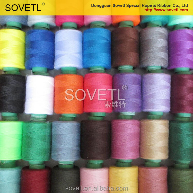 High Quality Dyed Polyester Sewing Thread Wholesale For Silk ...