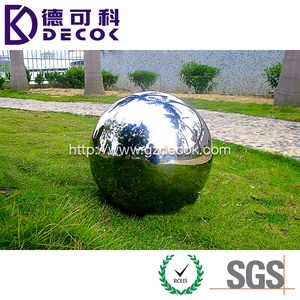 300mm 500mm 1 meter hollow stainless steel metal ball
