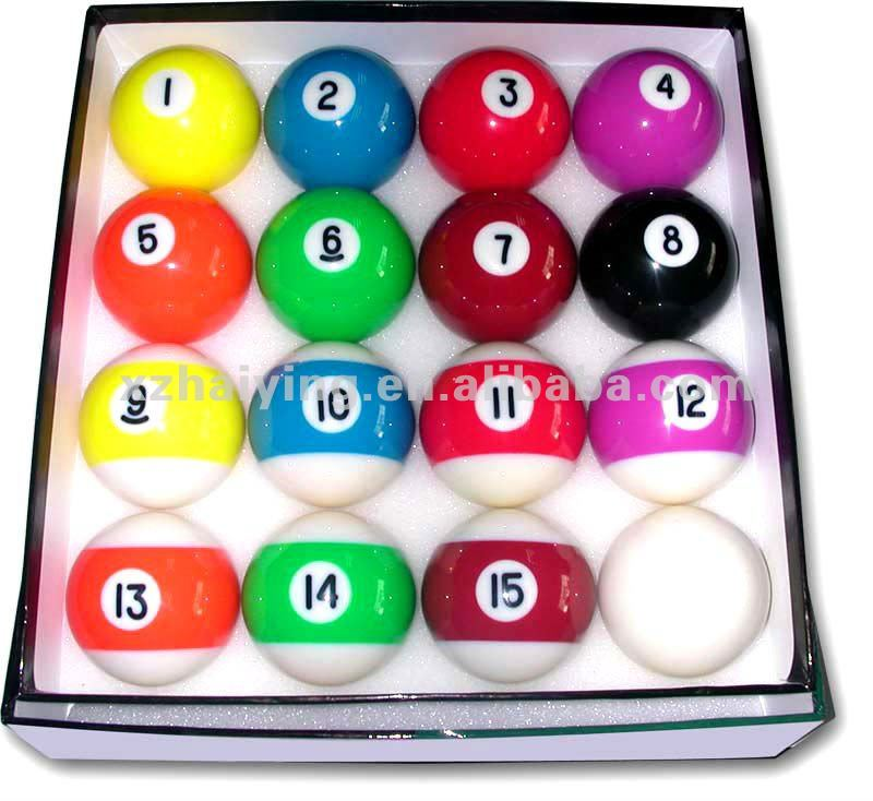 Resin Billiard Balls