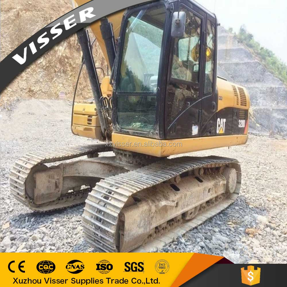 Used hydraulic crawler excavator cheap used excavators 320D