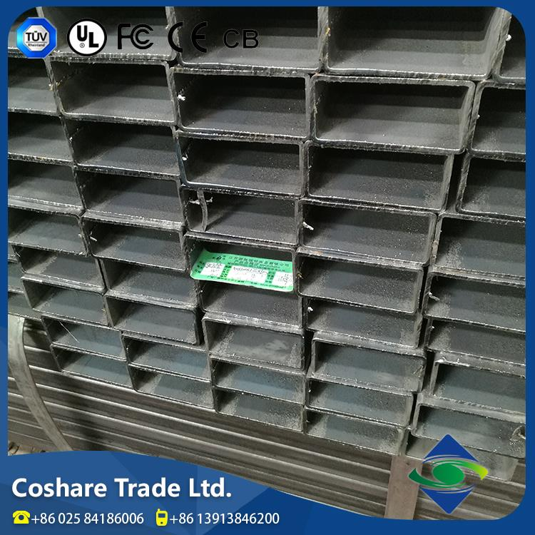 COSHARE- Passed GSG Product diversity square and rectangular steel pipes