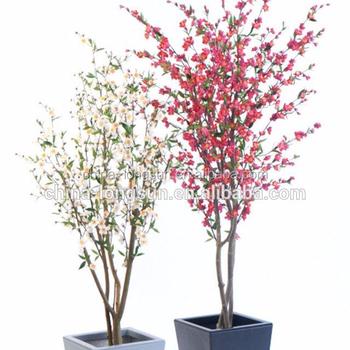 Lsd-20160307693 Décoratif Bonsaï Arbre Artificiel Faux Fleurs De on