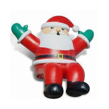 Giant inflatable santa claus balloon, inflatable moon bounce Y6005