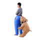 Customized halloween adults funny big dog bite ass fat inflatable costume