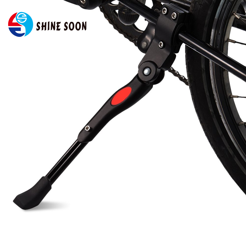 "Bicycle Kickstand, Adjustable Aluminium Alloy Bike Height Rear Kickstand for Bike 22"" 24"" 26""/ 700C Road Bicycle"