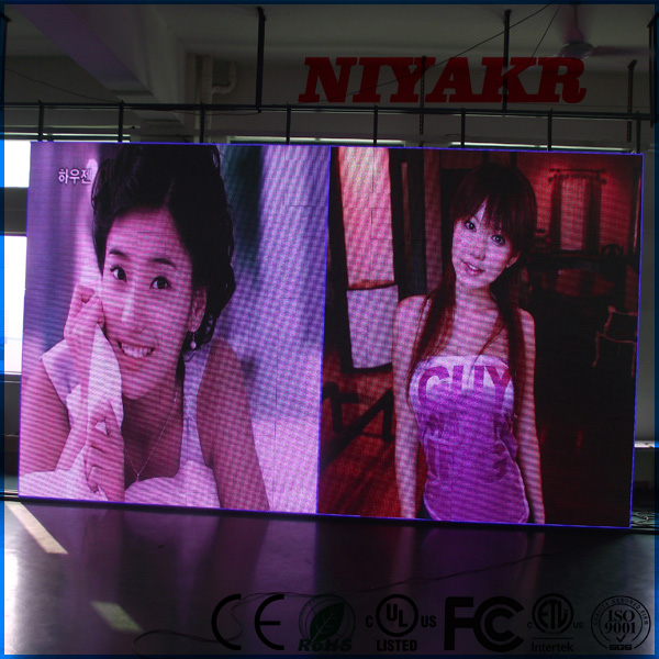 "NiyakrP2P3P4P5P6P8P10 promotion indoor full color advertising led display screen 23"" monitor hd"