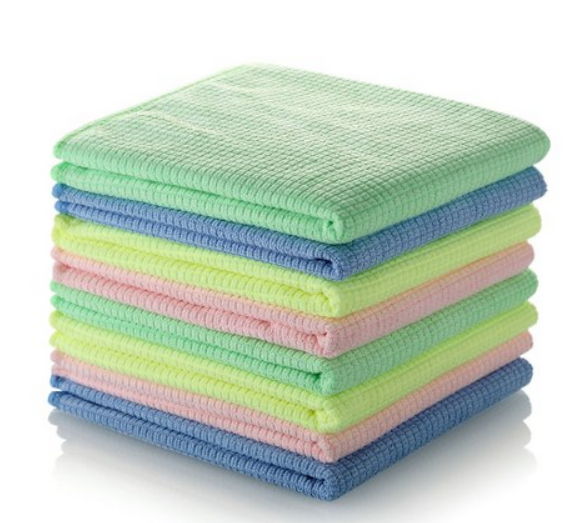 Microfiber Magic Cleaning Cloth -High Absorbent Lint and Streak-Free, For Household Cleaning, Kitchen, Car, Windows and More!