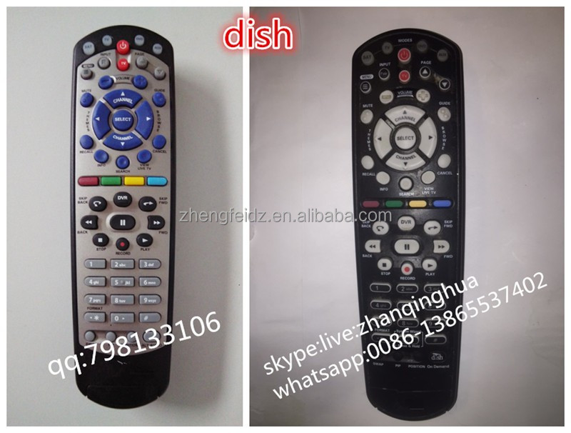 High Quality 53 Keys Dish Universal Remote Control SAT MODE,TV MODE,Hopper or Joey