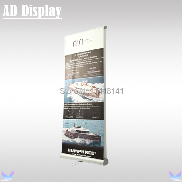 Exhibition Stand Roll Up : Buy cm pcs exhibition premium double side aluminum roll up