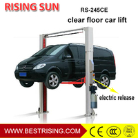 Electric used auto two post lift for workshop