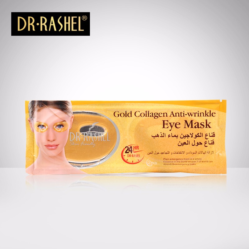 DR.RASHEL Gold Collagen Anti Wrinkle Dark Circle Eye care Mask Patch