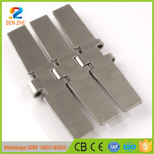 "ss430 5"" 127mm stainless steel slat link flat table top conveyor chain for bottle"