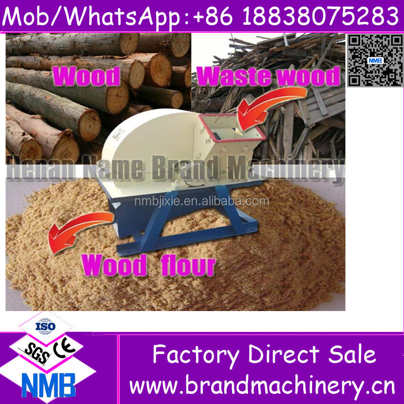 HIgh performance small wood branch sawdust chip pallet crusher used machine