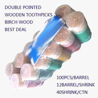 CE / EU Certification and Disposable,Eco-Friendly Feature wooden toothpicks for sale