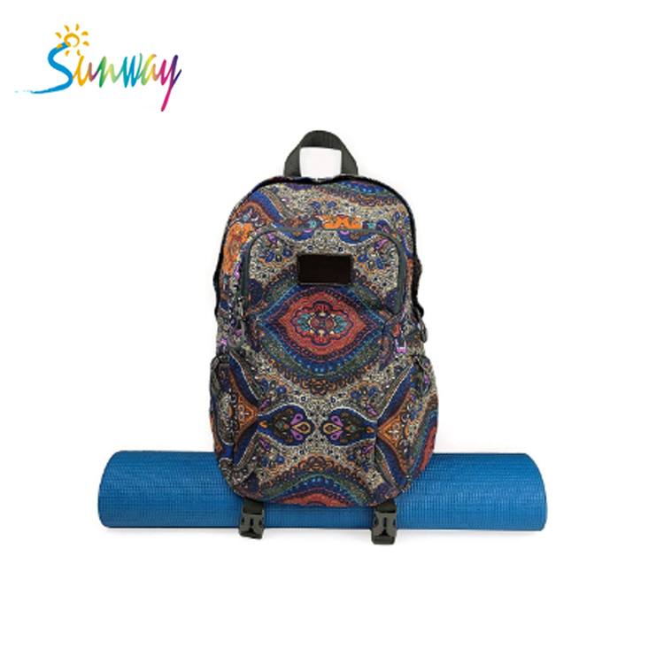 Fashionable Sport Gym Bags Yoga Mat <strong>Backpack</strong> For Girls