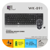 2.4Ghz Wireless Keyboard and Mouse Combos Fantech WK-891 Good Quality
