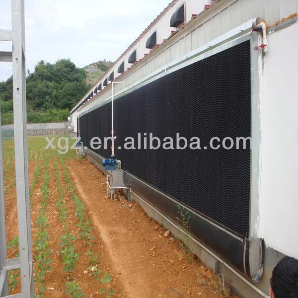 Prefabricated Chicken Farm Building