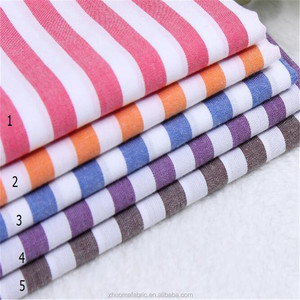 Yarn dyed made shirt stripe cotton Gingham Check Fabric