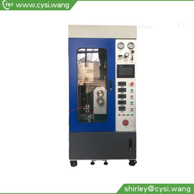 Carbon-Polymer Fiber Melt Spinning Machine for two different materials