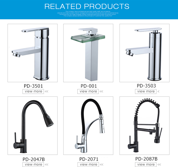High quality hot and cold water deck mounted basin faucet mixer