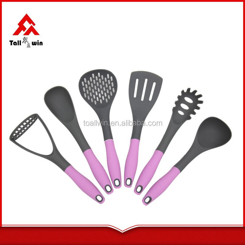 Wholesales cooking accessories 6pcs free sample kitchen for Kitchen tool 6pcs set