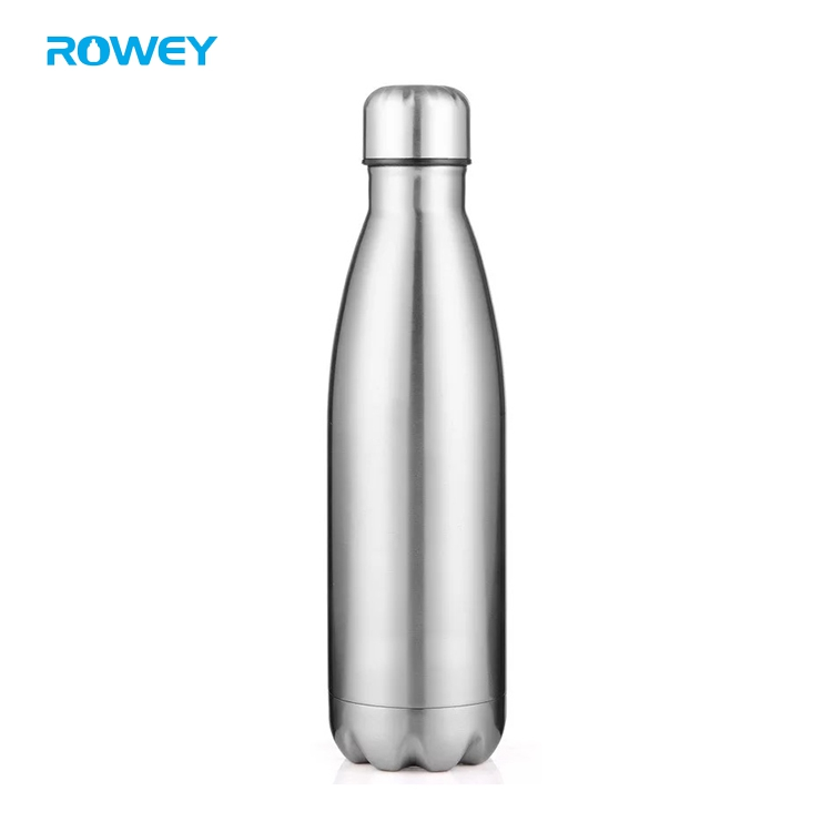 New design 750 ml stainless steel cola shape insulated thermos vacuum flask bottle