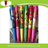 giant size ball pen for promotion with full color printing