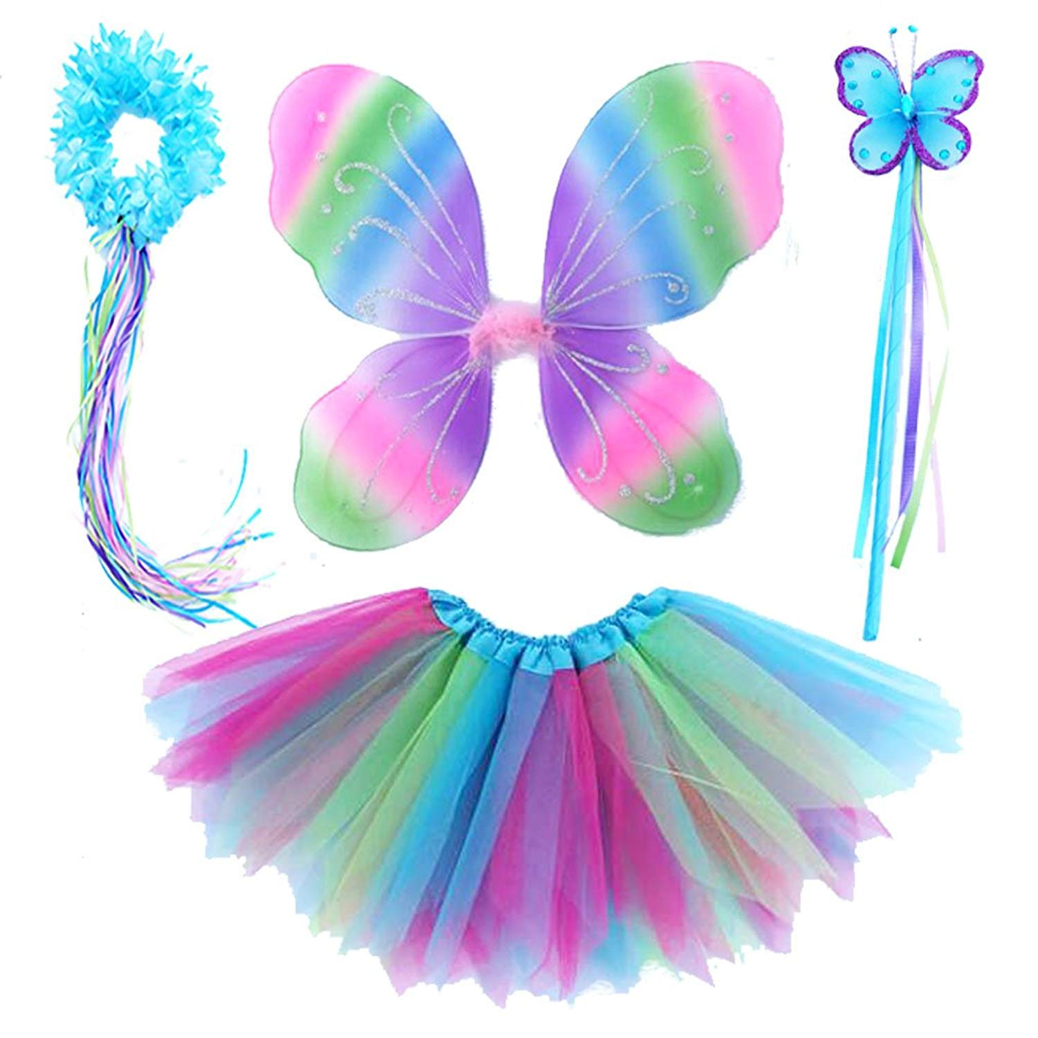 Lilly and the Bee Novelties Magical Unicorn Sparkling Fairy Princess Set