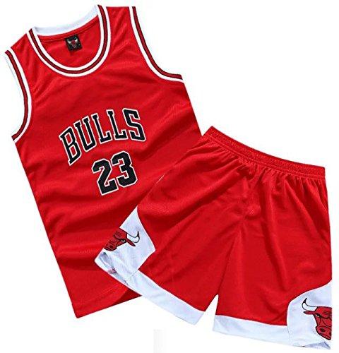 best service fc238 3d9ce Buy Kids Chicago 23 Michael Jordan Basketball Jersey For ...
