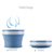 FDA Silicone Foldable Travel Drinking Cup Retractable Outdoor Portable Cup