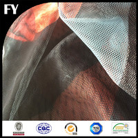 Factory direct custom high quality digital pvc coated polyester mesh fabric