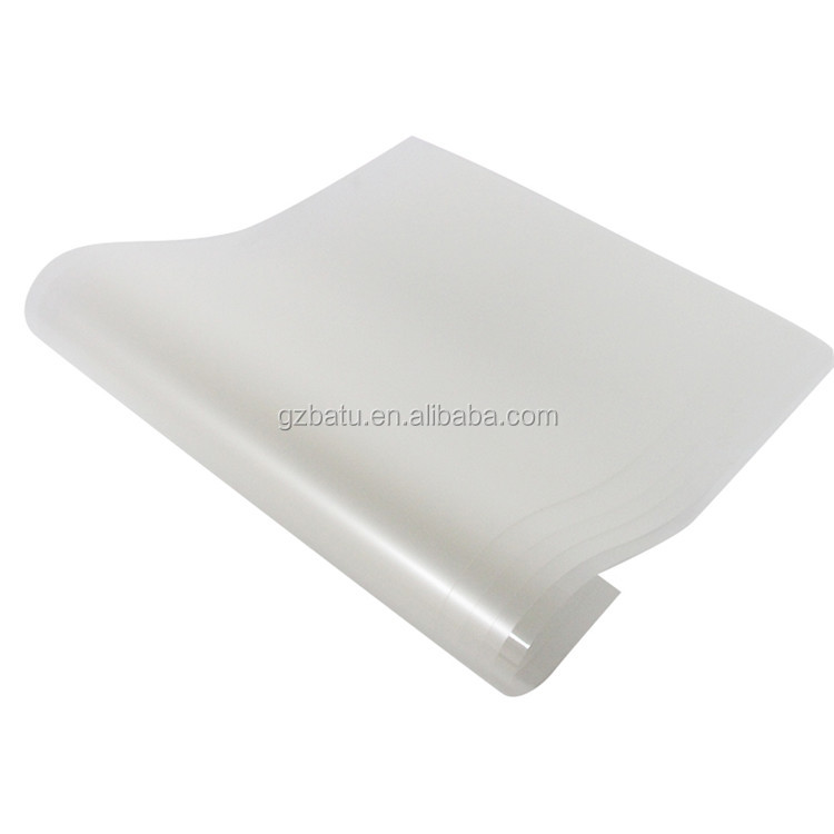 BATU 75/100 micron High Quality pet heat transfer film For Garment
