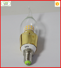 Candle Lights Type andCE,SAA,RoHS,LVD,EMC Certification e14 led candle bulbs 5w