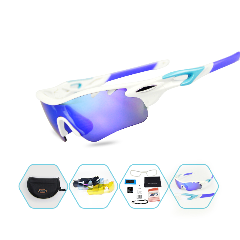 outdoor riding hiking goggles with myopia frame insert custom sports polarized sunglasses