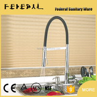 High quality excellent supplier ceramic cartridge kitchen faucet with shower