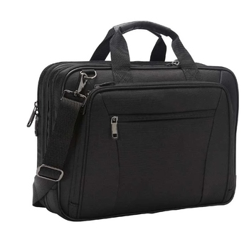 Handmade Laptop Briefcase, Waterproof Portfolio Men Business Conference Bag With Logo