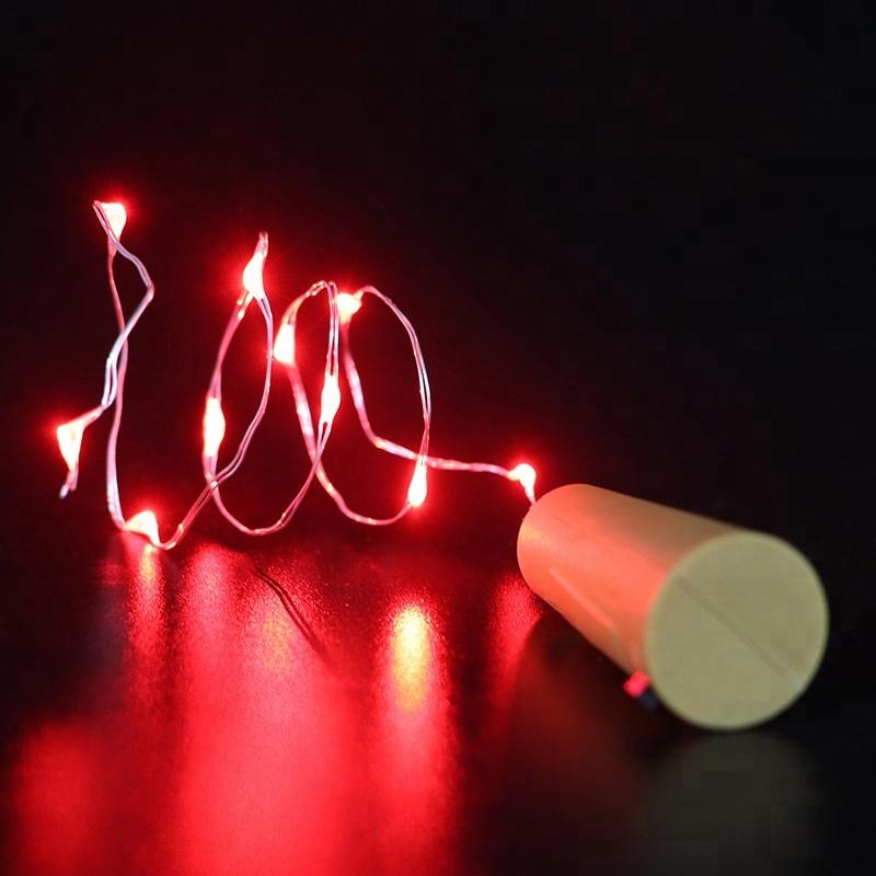 Qualität Chinesische Produkte Party Zelt Blinklicht LED Flasche Stopper  String Lichter