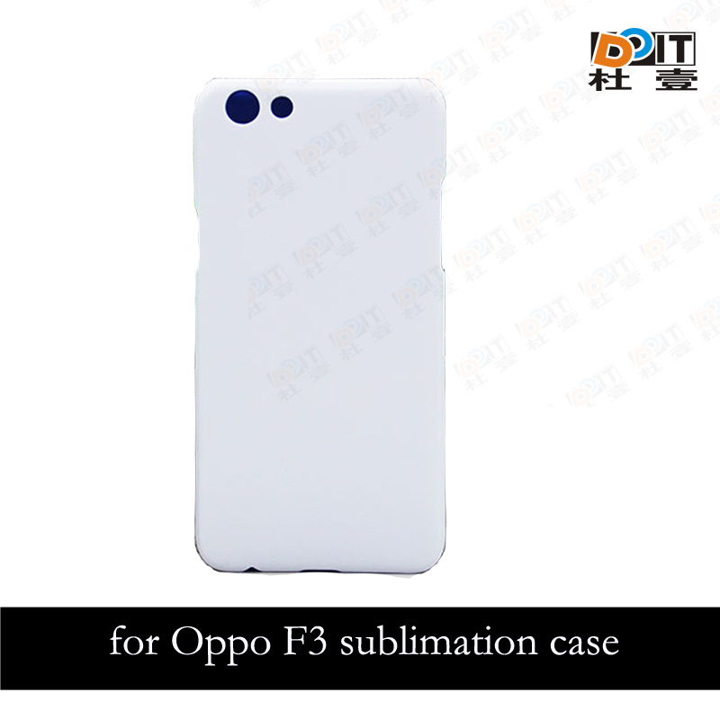 Mobile sublimation phone cover for oppo f3 3d/2d case printable