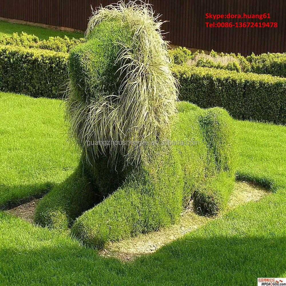 sjh010393 grande d coratif animaux de l 39 herbe artificielle animaux en plastique animaux jardin. Black Bedroom Furniture Sets. Home Design Ideas