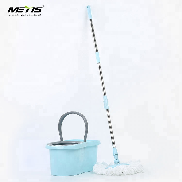 8909 modell Spin magic single bucket 360 mictofiber floor easy mop