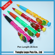 Creative stationery animal ballpoint pen or fruit shape ball pen